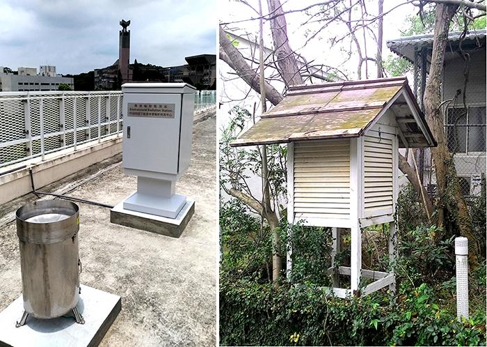 相關照片(2):清華大學標準型環境輻射監測設施