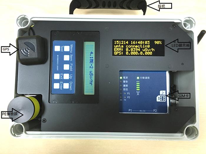 相關照片(3):機動輻射偵檢器模組(無線通訊)