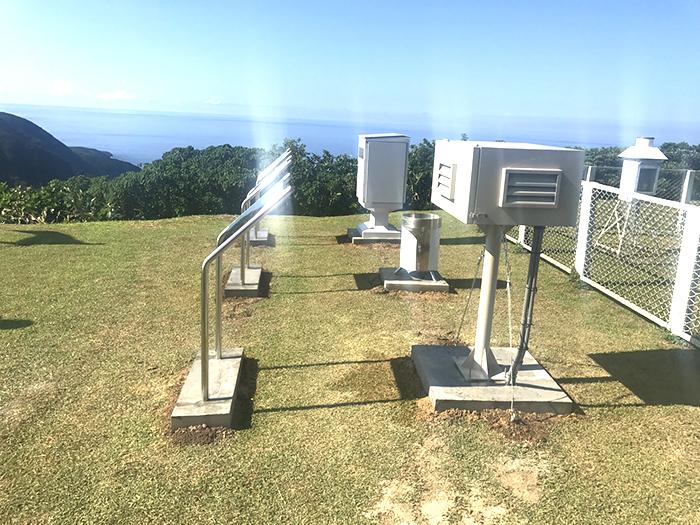 相關照片(1):蘭嶼氣象站標準型環境輻射監測設施