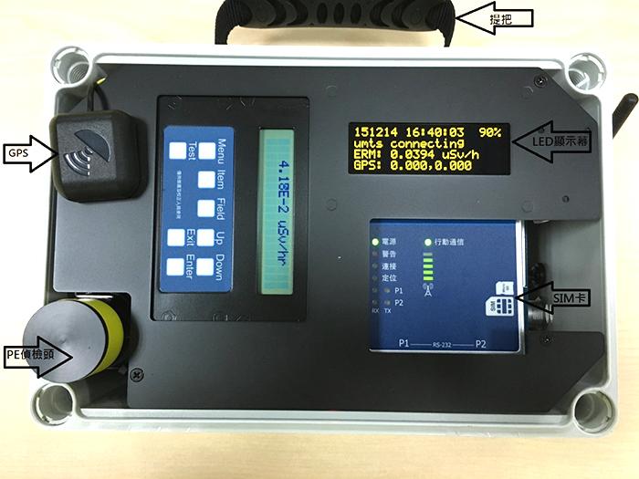 相關照片(2):機動輻射偵檢器模組(無線通訊)